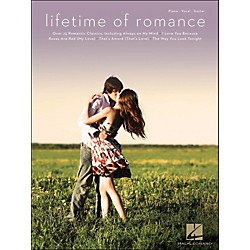 Hal Leonard Lifetime Of Romance arranged for piano, vocal, and guitar (P/V/G) (311926)