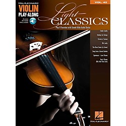 Hal Leonard Light Classics - Violin Play-Along Volume 42 Book/Online Audio (121935)