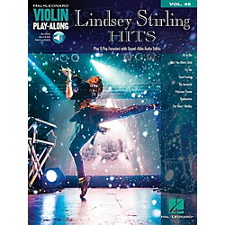Hal Leonard Lindsey Stirling Hits Violin Play-Along Vol. 45 Book/Audio Online (123128)