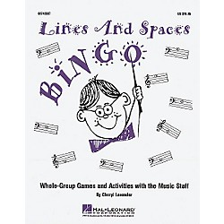 Hal Leonard Lines and Spaces Bingo (Game) (8740697)