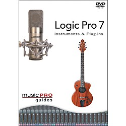 Hal Leonard Logic Pro 7 - Instrument and Plug-Ins DVD (320630)
