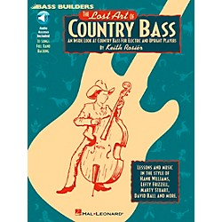 Hal Leonard Lost Art Of Country Bass Instruction (Book/CD) (695107)