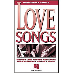 Hal Leonard Love Songs Paperback Songs Piano, Vocal, Guitar Songbook (240150)