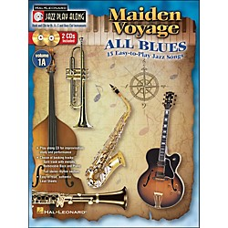 Hal Leonard Maiden Voyage/All Blues - Jazz Play-Along Vol. 1A (Book/2 CDs) 15 Easy-To-Play Jazz Songs (843158)