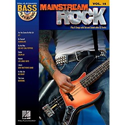 Hal Leonard Mainstream Rock - Bass Play-Along Volume 15 Book/CD (699822)