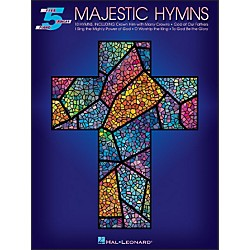 Hal Leonard Majestic Hymns For Five Finger Piano (310945)