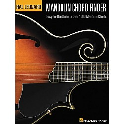 Hal Leonard Mandolin Chord Finder 12x9 Book (695739)