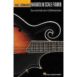 Hal Leonard Mandolin Scale Finder 6x9 Book (695782)