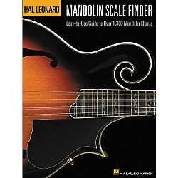 Hal Leonard Mandolin Scale Finder 9x12 Book (695779)