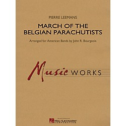 Hal Leonard March Of The Belgian Parachutists - Music Works Series Grade 4 (4003149)