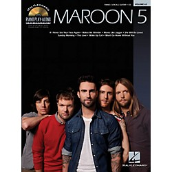 Hal Leonard Maroon 5 - Piano Play-Along Volume 63 Book/CD (316826)