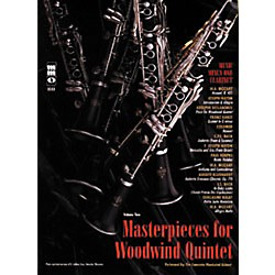 Hal Leonard Masterpieces for Woodwind Quintet Clarinet (400326)