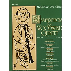 Hal Leonard Masterpieces for Woodwind Quintet Oboe (400383)