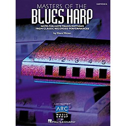 Hal Leonard Masters of the Blues Harp Book (690181)