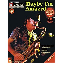 Hal Leonard Maybe I'M Amazed - Jazz Play-Along Volume 97 (CD/Pkg) Featuring Howie Casey (843148)