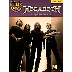 Hal Leonard Megadeth - Guitar Play-Along Volume 129 (Book/CD) (701741)