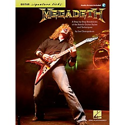 Hal Leonard Megadeth Guitar Signature Licks Book/CD (696421)