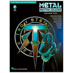 Hal Leonard Metal Rhythm Guitar Volume 2 (Book/CD) (699320)