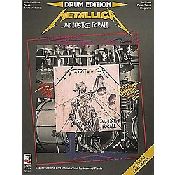 Hal Leonard Metallica...And Justice For All Drum Book (2503504)