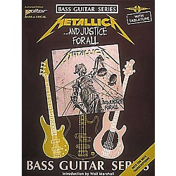 Hal Leonard Metallica...And Justice for All Bass Guitar Tab Book (2506982)