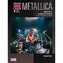 Hal Leonard Metallica - Drum Legendary Licks Book with CD (2500172)