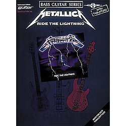 Hal Leonard Metallica - Ride the Lightning Bass Tab Book (2507040)