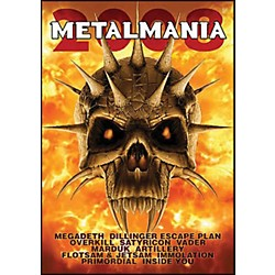 Hal Leonard Metalmania 2008 Live Concert DVD With Megadeth Overkill Rimordial And More (320942)