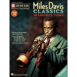 Hal Leonard Miles Davis Classics Jazz Play-Along Volume 79 Book/CD (843081)