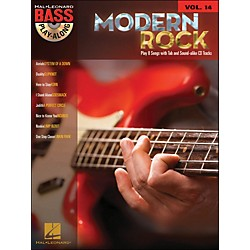 Hal Leonard Modern Rock Bass Play-Along Volume 14 Book/CD (699821)
