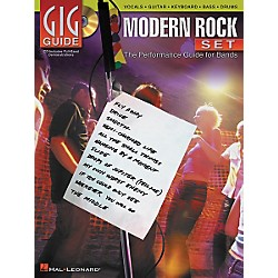 Hal Leonard Modern Rock Set Gig Guide (Book/CD) (310929)