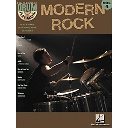 Hal Leonard Modern Rock Volume 4 Drum Play-Along Book with CD (699744)