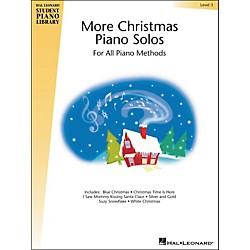 Hal Leonard More Christmas Piano Solos Book 3 Hal Leonard Student Piano Library (296793)