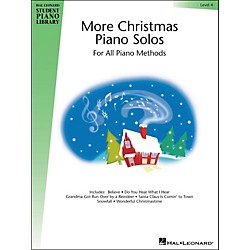 Hal Leonard More Christmas Piano Solos Book 4 Hal Leonard Student Piano Library (296794)