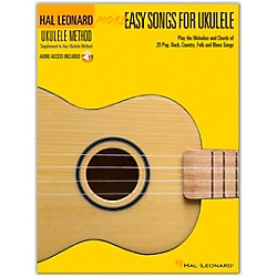 Hal Leonard More Easy Songs For Ukulele Book/CD (118564)