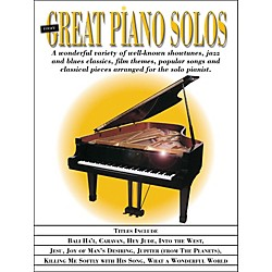 Hal Leonard More Great Piano Solos - Showtunes, Jazz, Blues, Film, Popular, Classical arranged for piano solo (311274)