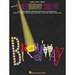 Hal Leonard More Of The Best Broadway Songs Ever arranged for piano, vocal, and guitar (P/V/G) (311501)