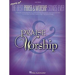 Hal Leonard More Of The Best Praise & Worship Songs Ever For Easy Piano (311801)