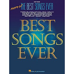 Hal Leonard More Of The Best Songs Ever For Easy Piano (311090)