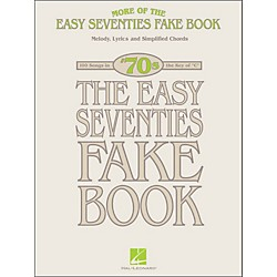 Hal Leonard More Of The Easy 70's Fake Book In The Key Of C (240290)