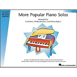 Hal Leonard More Popular Piano Solos Book 1 Hal Leonard Student Piano Library (296189)