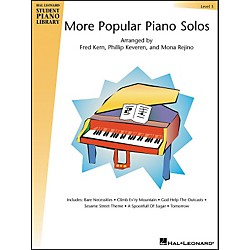 Hal Leonard More Popular Piano Solos Book 3 Hal Leonard Student Piano Library (296191)