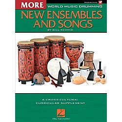 Hal Leonard More World Music Drumming: More New Ensembles and Songs (9971087)
