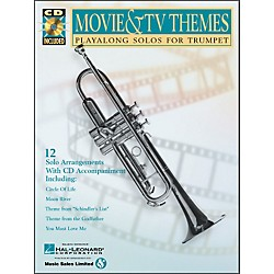 Hal Leonard Movie And TV Themes Playalong Solos For Trumpet Book/CD (841456)