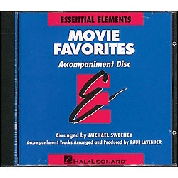 Hal Leonard Movie Favorites CD (860027)