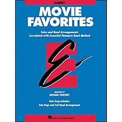 Hal Leonard Movie Favorites Clarinet (860025)