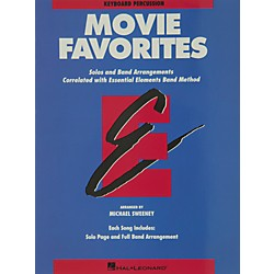 Hal Leonard Movie Favorites Keyboard Percussion (860022)