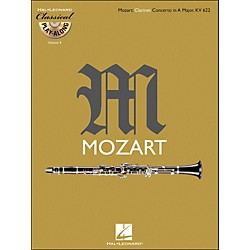 Hal Leonard Mozart: Clarinet Concerto In A Major, Kv 622 Classical Play-Along Book/CD Vol.4 (842344)