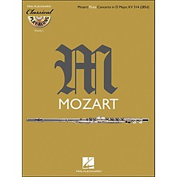 Hal Leonard Mozart: Flute Concerto In D M Ajor, Kv 314 Classical Play-Along Book/CD Vol.1 (842341)