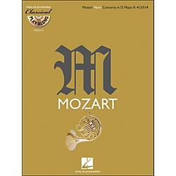 Hal Leonard Mozart: Horn Concerto In D Major, Kv 412/514 Classical Play-Along Book/CD Vol.6 (842346)