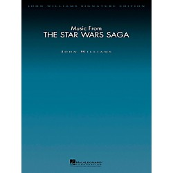 Hal Leonard Music From The Star Wars Saga - John Williams Signature Edition Orchestra Score and Parts (4491066)